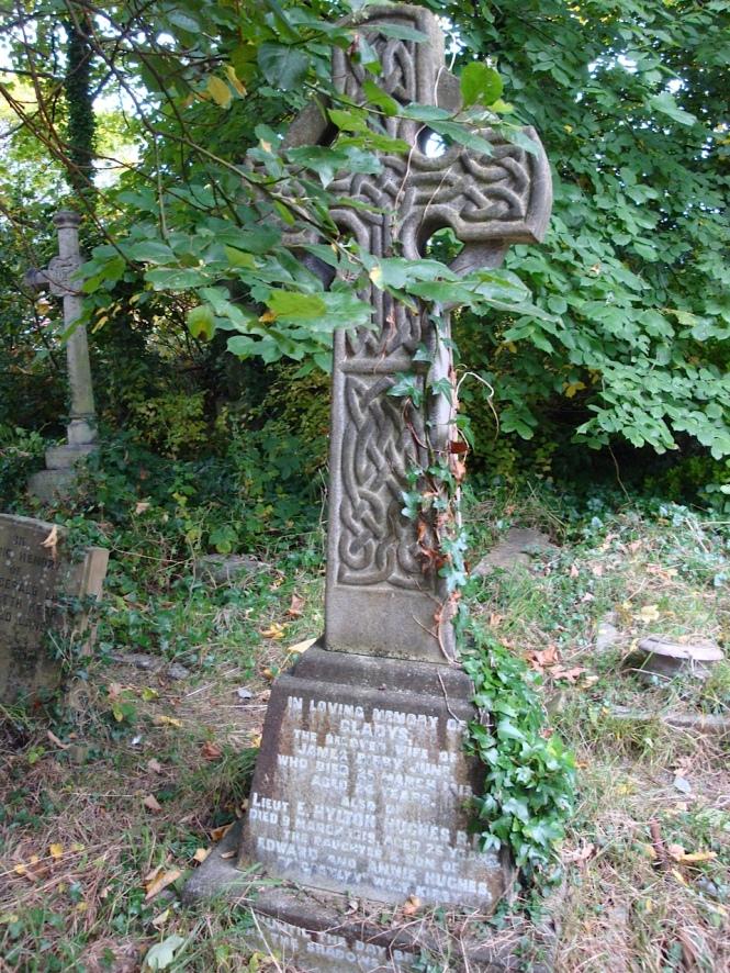 E H W Hughes grave at St Bridget.jpg